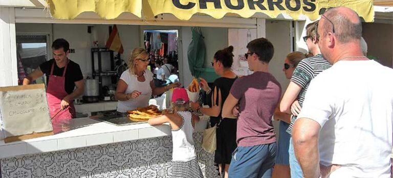Afhængig af churros