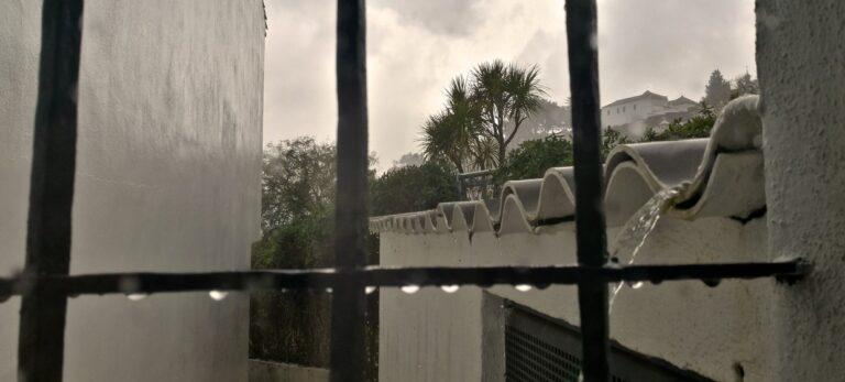 Ja, det regner i Spanien!