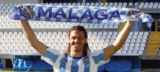 Fra første dag i januar har Demichelis været en lykkelig mand i Málaga.