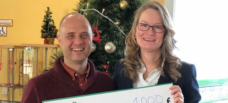 Helle Hollis Car Rental støtter Cudeca Hospice