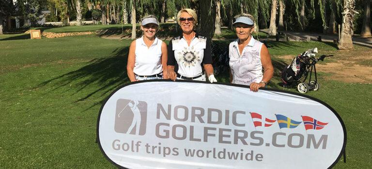 NORDIC golfers samt SIMZAR Estates bakker op om de glade skandinaver på Lauro golf