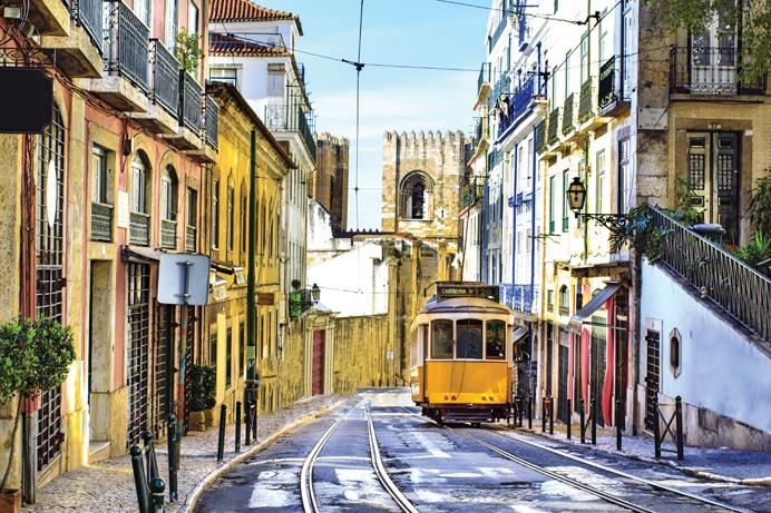 På vej til Santiago de Compostela – Optakt: Lissabon og Porto