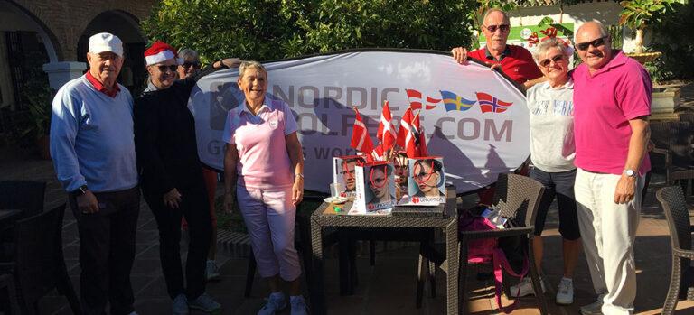Nordic Golfers samt Unioptica Julematch Lauro Golf