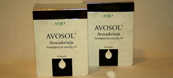 Avosol indeholder avokado & soja – et sikkert middel mod slidgigt