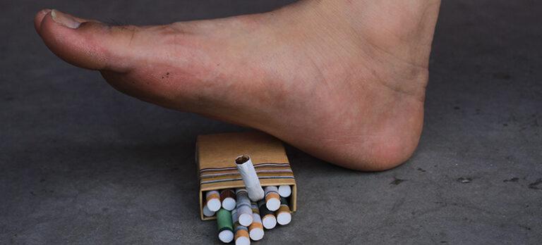 Hvad har cigaretter med ligtorn at gøre?
