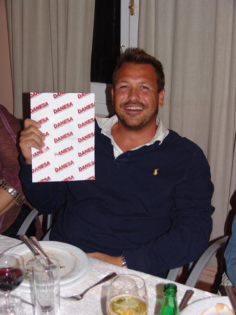 Label Waters Jens vandt en præmie for Dagens Bedste Sportsskade.