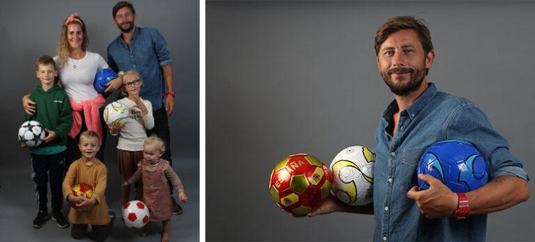 Familiefar og fodboldtræner med store ambitioner