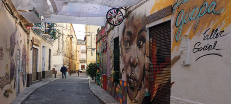 Nyt Soho-kvarter vokser frem i Málaga