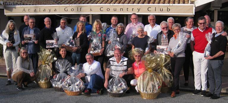 Skandinavisk gruppe på Lauro Golf