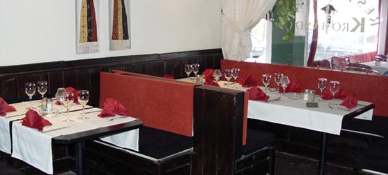 Familiær atmosfære på Restaurant Kromand