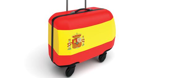 Spanske arbejdsløse flygter til udlandet