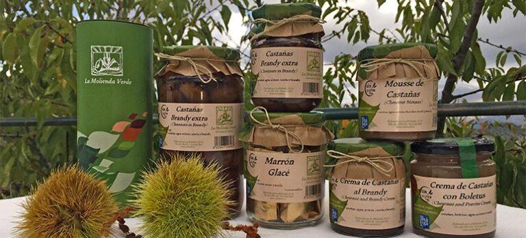Sabor a Málaga: Kastanjeprodukter med forskellige tilberedninger og smag