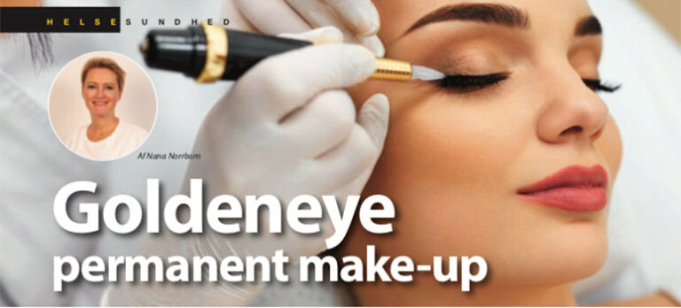 Goldeneye permanent make-up