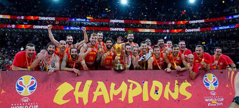 Spanien er verdensmester i basketball