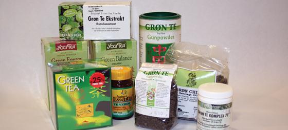 Grøn the – en stærk antioxidant