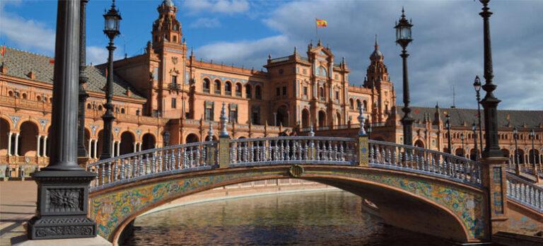 Hele Spanien i én halvcirkel