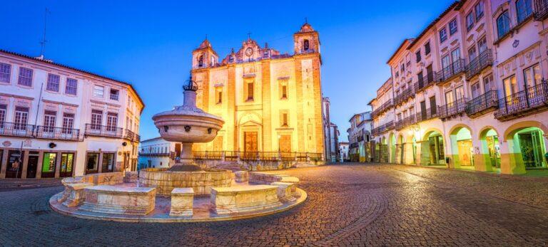 Evora – hele byen er et museum