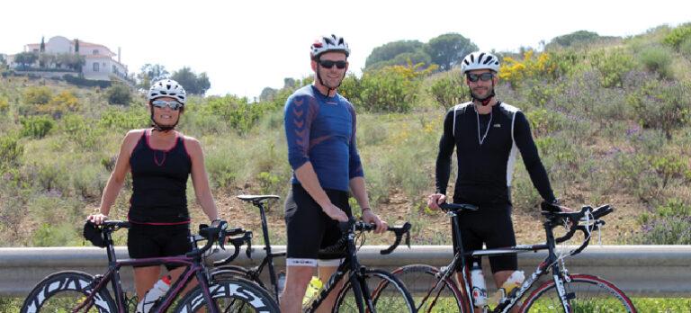 Tre danske triatleter træner til halv ironman i Málaga