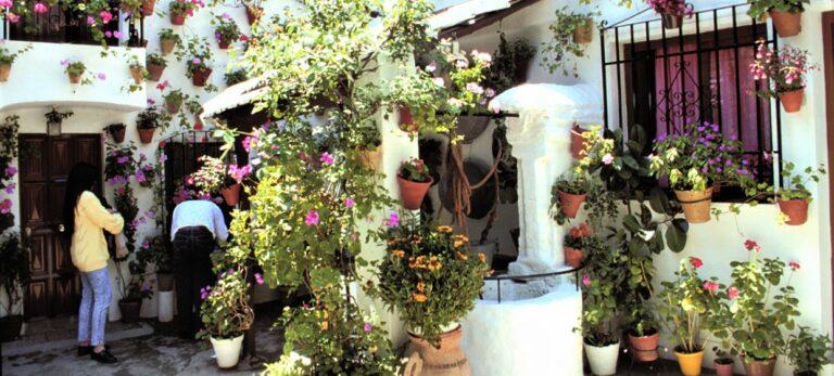 Blomsterfestival i Córdoba
