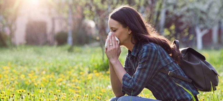 Forebyg forårets allergi… NU !
