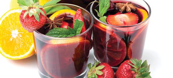 Sommerdrikke med vin og cava