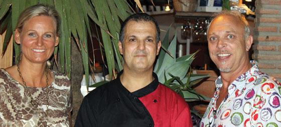Restaurantbesøg på El Olivo