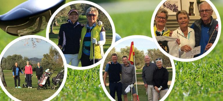 Club de Golf Dinamarca spillede månedsmatch den 17. februar 2020