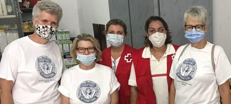 Soroptimist International Costa del Sol hjælper familier i Mijas Kommune
