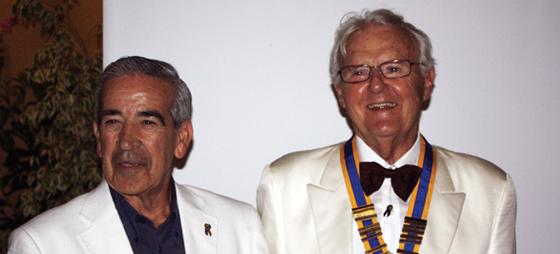 Kirkenyt og Rotary juli 2011
