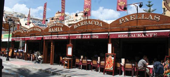 Restaurante Bahía har alt, hvad hjertet begærer