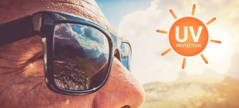Pas på øjnene og deres omgivelser i solen