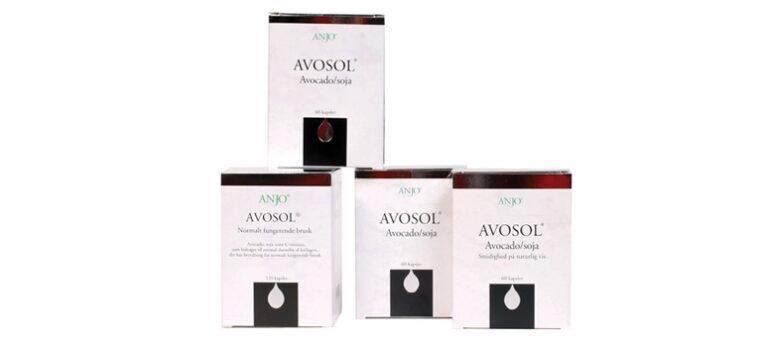 Avosol indeholder avokado og soja – et sikkert middel mod slidgigt