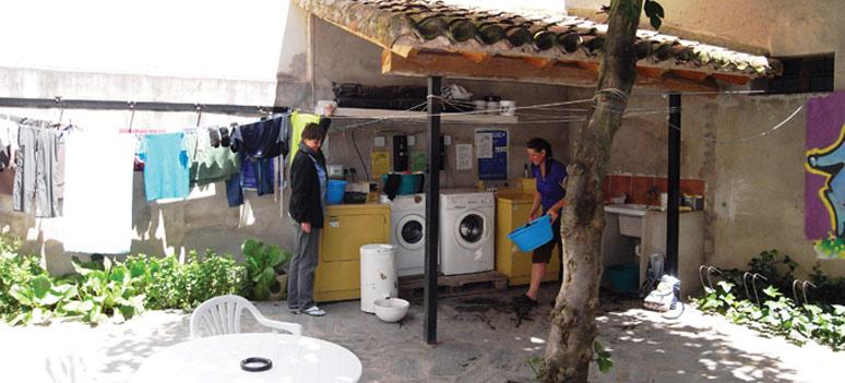 Herberg-vaskefaciliteter