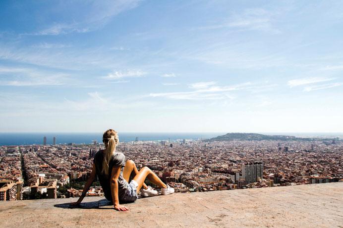 Fem cool steder i Barcelona