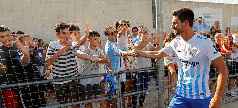 Malaga CF Adrian topscorer