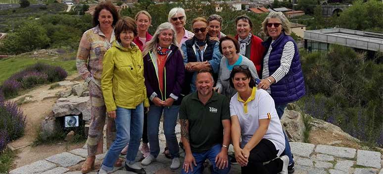 Pilgrimsvandring gruppe