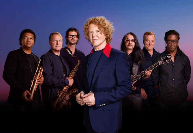 Simply Red Line Up