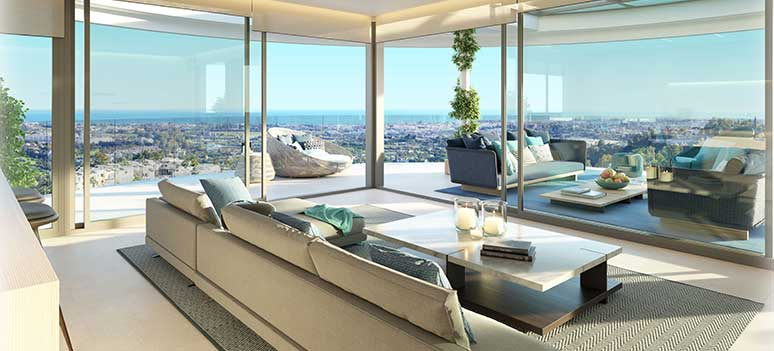 The View Marbella Lounge Sea