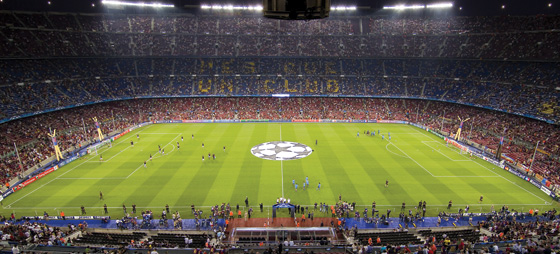 Fodboldhistorie og stadionbesøg på Camp Nou