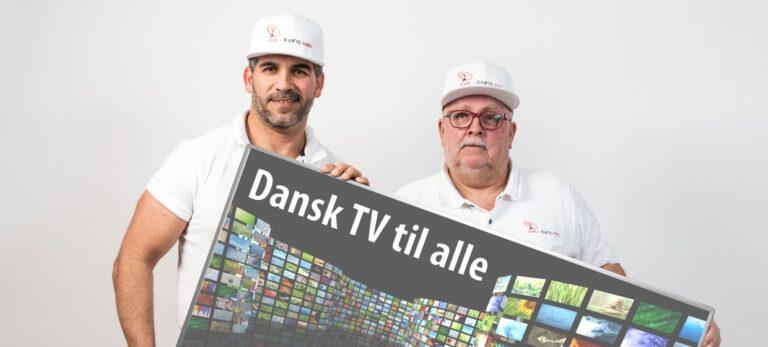 Dansk TV og masser af service til alle