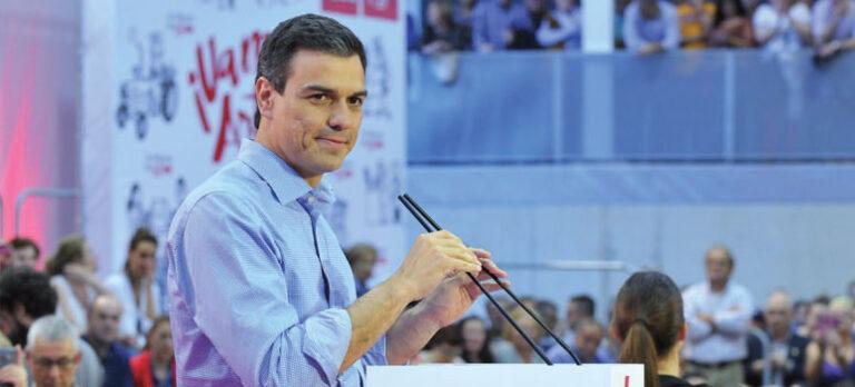 Den nye mand i front for PSOE