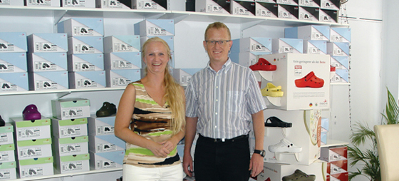 Virksomhedsprofil Shop Cristina – Skospecialist, der sørger for at fodtøjet passer