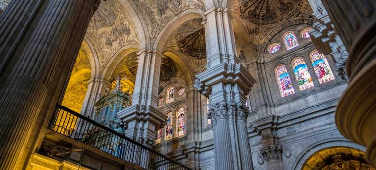 Den énarmede katedral i Málaga