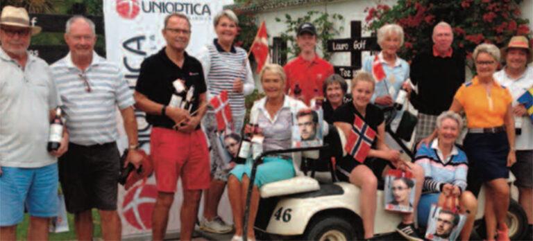 Den skandinaviske gruppe har travlt på Lauro