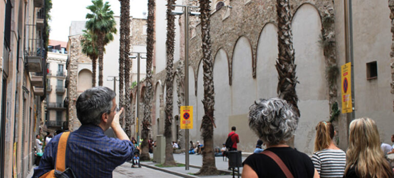 I hælene på hjemløse i Barcelona