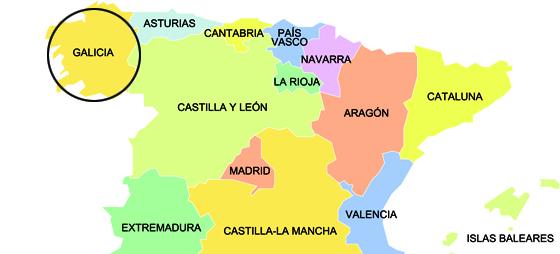 Galicien og deres vine