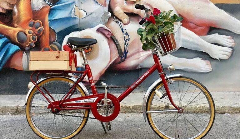 Vintagecykler i Málaga – Lædersadler, blankpoleret krom og lysende dynamoer