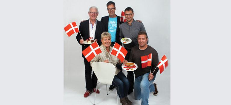 Dansk hygge og røde pølser til 'Internationale Dage'