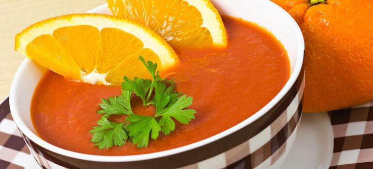 Sopa Cachorreña – Varm appelsinsuppe