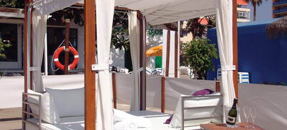 Los Náufragos – Strandrestaurant udover det sædvanlige